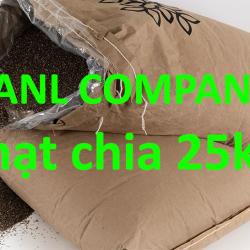 sản phẩm hạt chia giá sỉ do ANL cung cấp, được chúng tôi nhập khẩu về Việt Nam với quy cách 1 bao 25kg. Từ các nước như Mexico, Trung Quốc, Mỹ, Úc, Paraguay