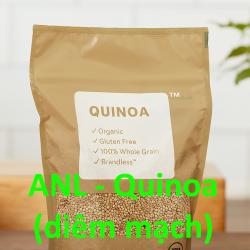 hạt quinoa ANL đóng gói túi 1kg được bày bán tại các cửa hàng và siêu thị, chúng tôi phân phối và bỏ sỉ theo yêu cầu của khách mua sỉ