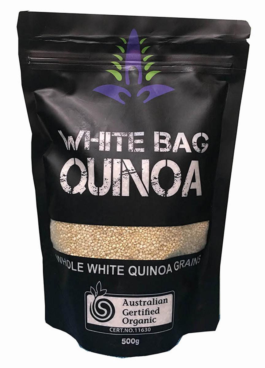 hạt diêm mạch Úc giá sỉ, quy cách đóng gói túi 500g. Hiệu Black Bag nổi tiếng của Úc