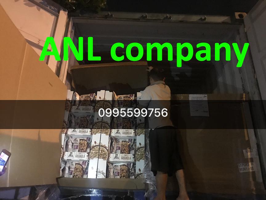 yến mạch quaker oats granola được ANL nhập khẩu từ Mỹ và phân phối tại thị trường Việt Nam