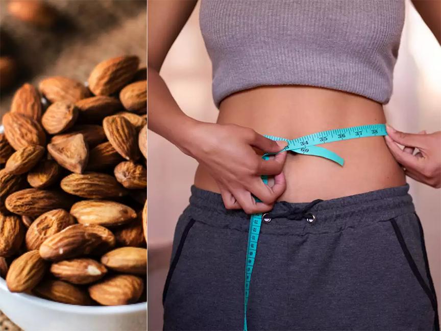 giảm cân với hạnh nhân là một lựa chọn tốt