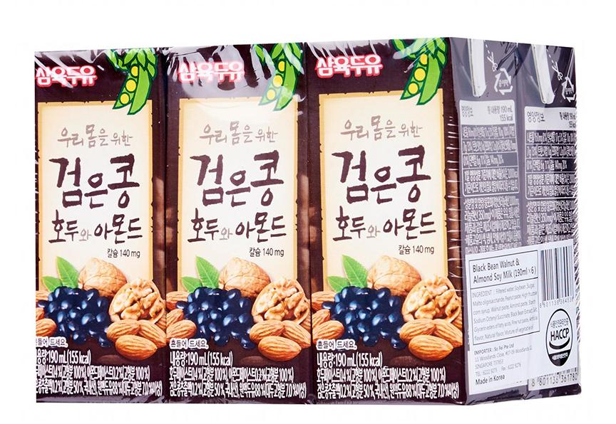 sữa hạnh nhân óc chó Hàn Quốc nổi tiếng là thơm ngon
