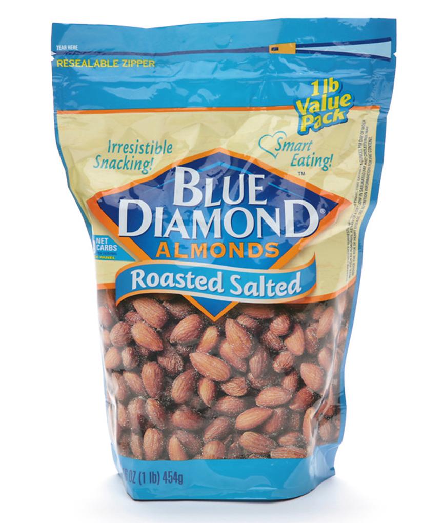 Blue Diamond là thương hiệu hạnh nhân nổi tiếng Thế giới, thương hiệu này của Mỹ