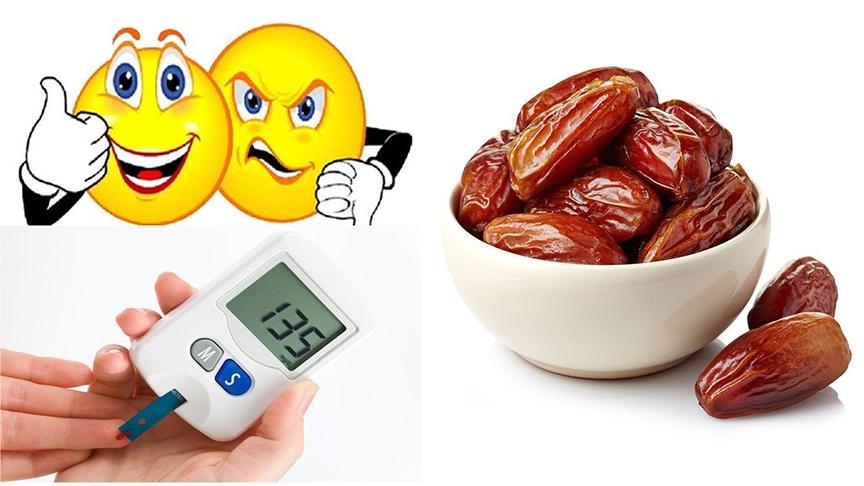 quả chà là sấy khô có thể giúp chúng ta kiểm soát tốt lượng đường trong máu, tin tốt lành đối với những ai mắc bệnh tiểu đường