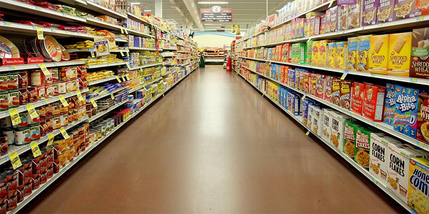 bạn có thể tìm mua yến mạch trong các siêu thị lớn