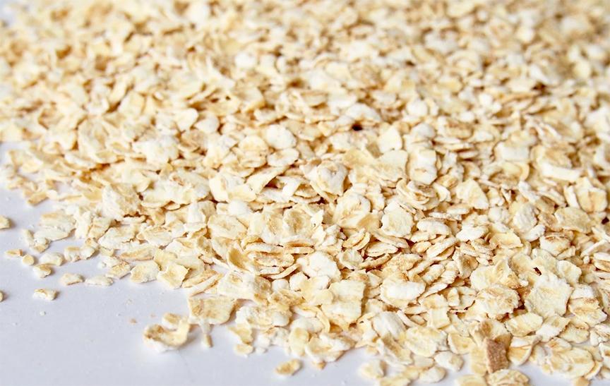 yến mạch cán vỡ (xay vỡ) loại Quick Oats được nhập khẩu từ Úc