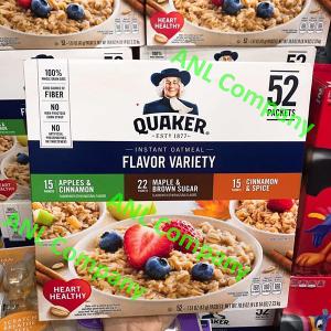 Yến Mạch Quaker Oats Flavor Variety giá sỉ, được nhập khẩu và phân phối bởi ANL