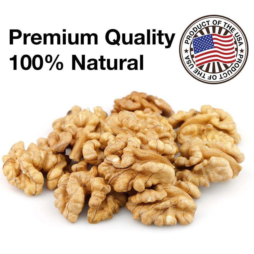 hạt óc chó Mỹ với chất lượng cao hàng đầu trên Thế Giới, đáng để mua