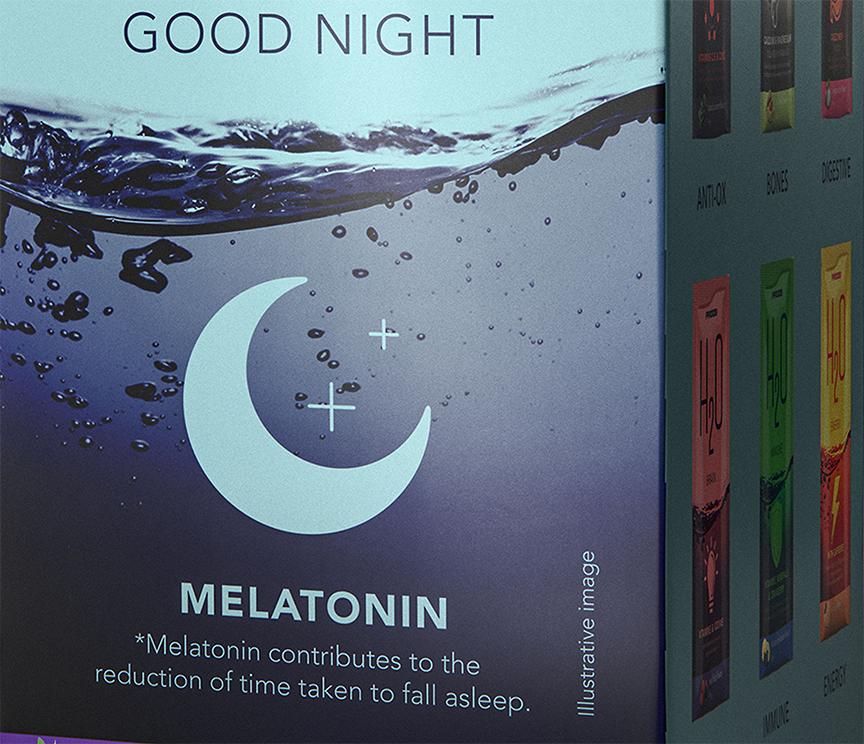 trong quả óc chó chứa melatonin giúp cho mẹ bầu ngủ ngon