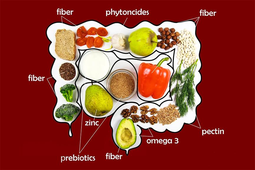 hạt óc chó là 1 trong số các loại thực phẩm có tác dụng tốt đối với đường ruột, giúp cho hệ tiêu hóa khỏe mạnh