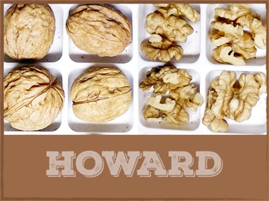 hạt óc chó Howard, 1 trong những giống quả óc chó nổi tiếng của Mỹ